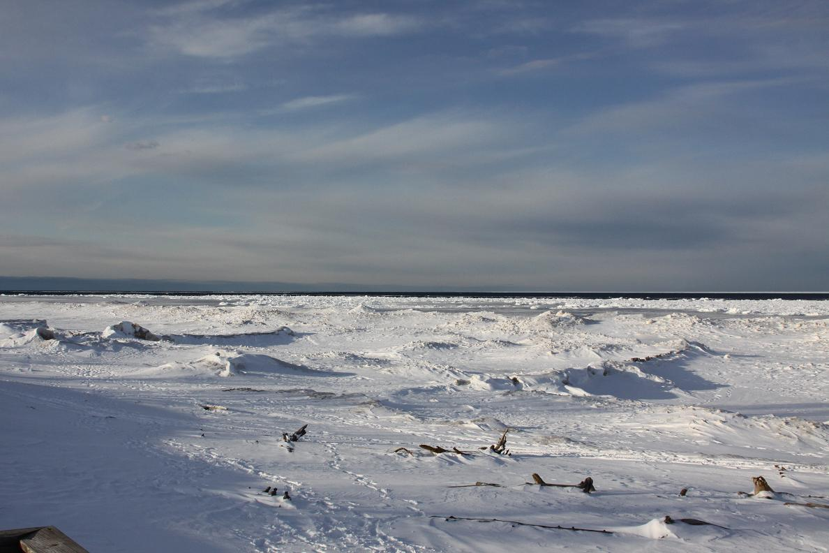 Michigan exposures and whitefish point for White fish point