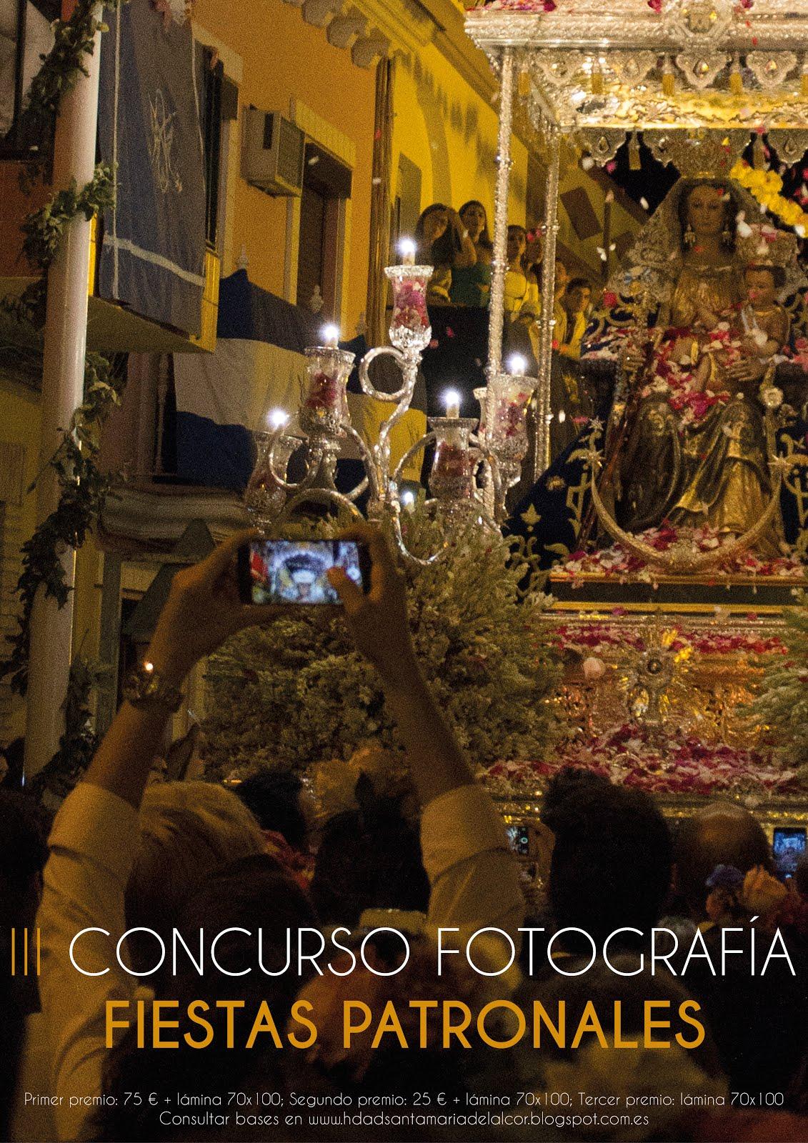 Concurso de Fotografía sobre las Fiestas Patronales de 2018