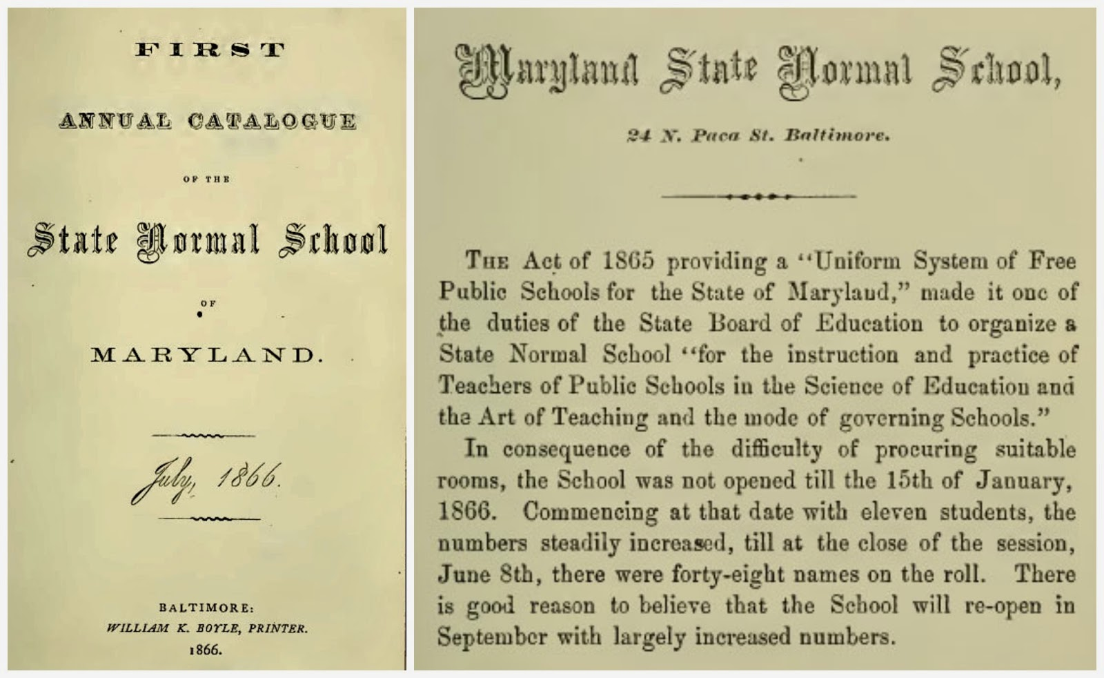 Founders Day Educated Guesses Towson University Special