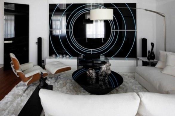 Dise o interior futurista de un apartamento en mosc ideas para decorar dise ar y mejorar tu Diseno interior futurista