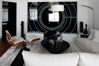 diseño interior futurista