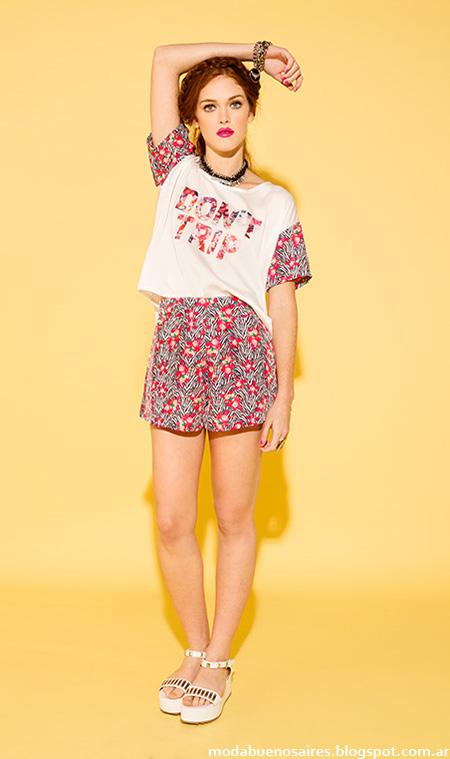 Sans Doute primavera verano 2015 shorts.