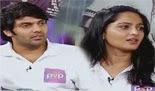Sandhippoma @ Cinema Cafe – Irandam Ulagam Team (Arya,Anushka) 24.11.2013