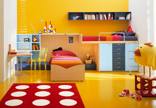 kids bedroom color ideas for boys and girls ayanahouse. Black Bedroom Furniture Sets. Home Design Ideas
