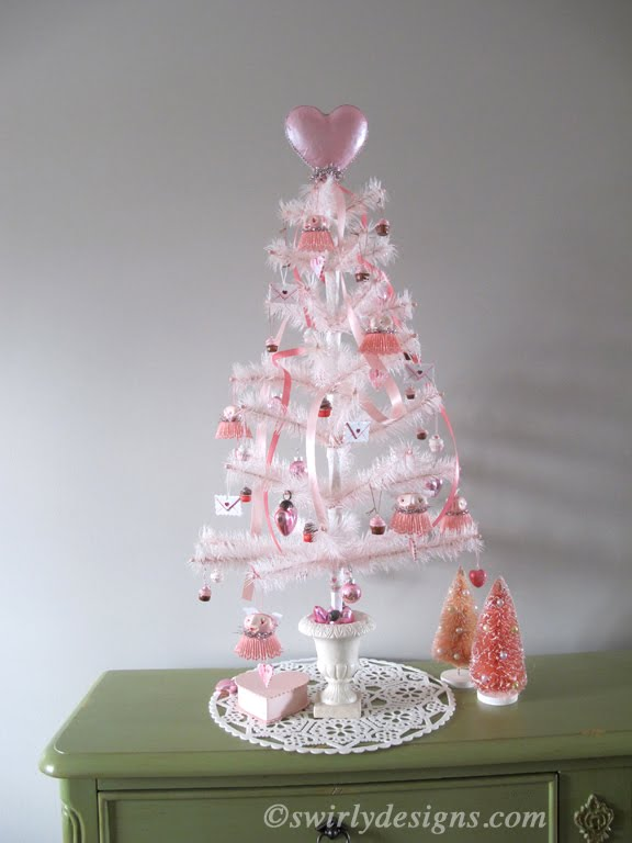 ...or Switch It Around To Make The Whole Tree In Tones Of Pink.
