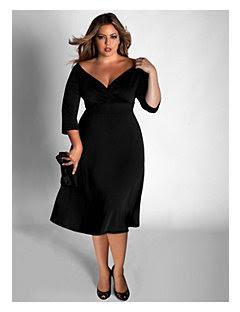 Vestidos negro gorditas