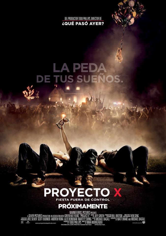 Cine proyecto x project x fiesta fuera de control for Fuera de control dmax