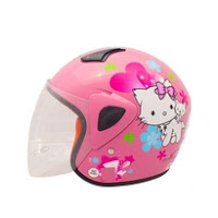 Helm Anak Hello Kitty Murah