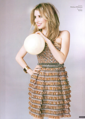 Emma Roberts- Glamour Magazine