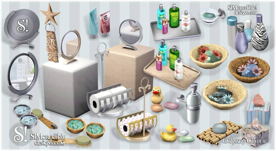Entertainment World My Sims 3 Blog Bathroom Clutter By