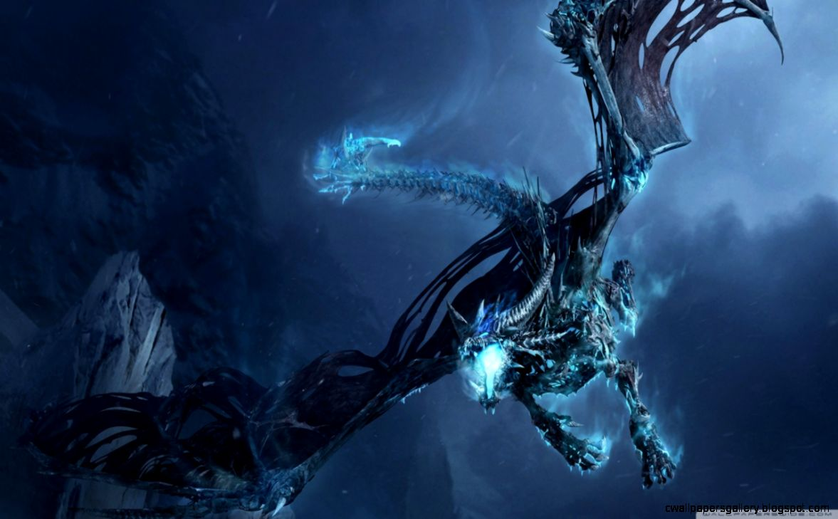 World Of Warcraft Ice Dragon HD desktop wallpaper  Widescreen