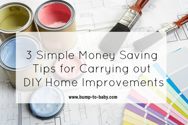 diy home improvements, home improvement on a budget