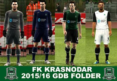 PES 2013 FK KRASNODAR 2015/16 GDB by argy
