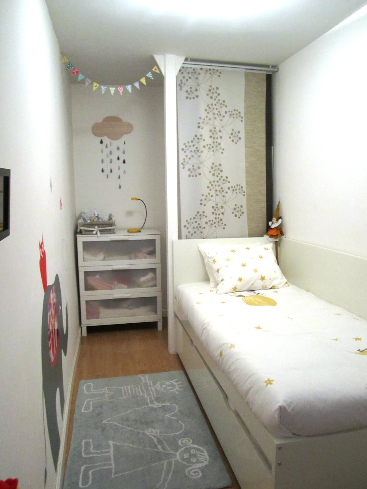 Naifandtastic decoraci n craft hecho a mano for Small single bedroom decorating ideas