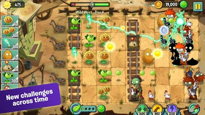 Game Review Plants vs zombies 2