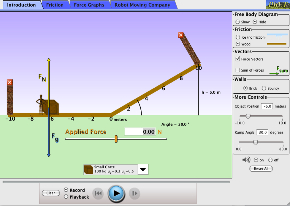the ramp phet lab Phet ramp: forces & motion    forces-and-motion   .