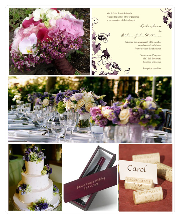 Perfect Purple Wedding