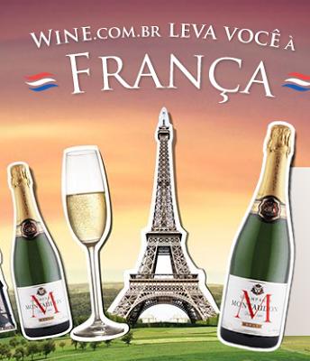 Promoção Wine Leva você à França