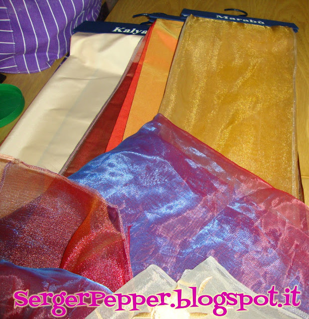 SergerPepper - Tutus from Curtain samples - #tutorial #refashion