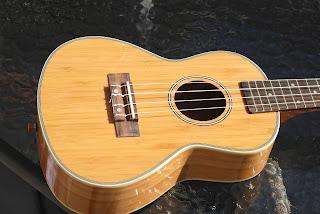Moselele Bambookulele concert ukulele body