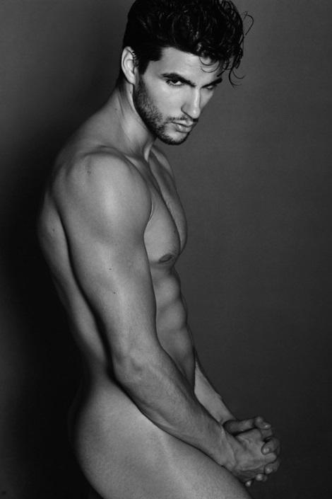 Kevin Cote nude portrait