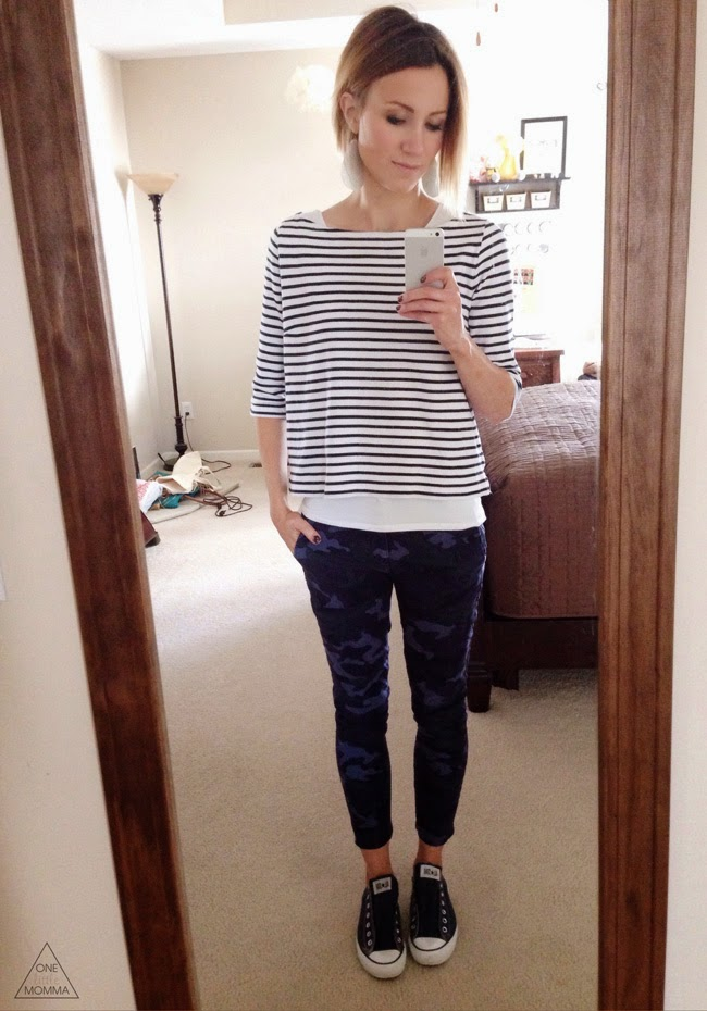 stripes, navy camo, converse