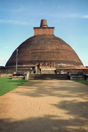 Stupa at Polonnaruwa