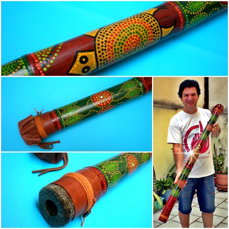 Artesãos Ou Artesaos ~ Wakan Wood Didgeridoo Didgeridoo em homenagem a M u00e3e Terra