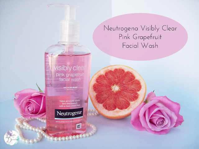 Neutrogena, Visibly clear, pink grapefruit, face, wash