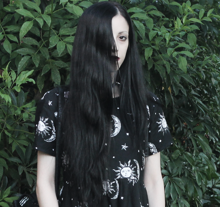 outfit,black,dress,motel,rocks,sun,moon,pale,grunge,gothic,ideas,blogger,argentina,jenn,potter