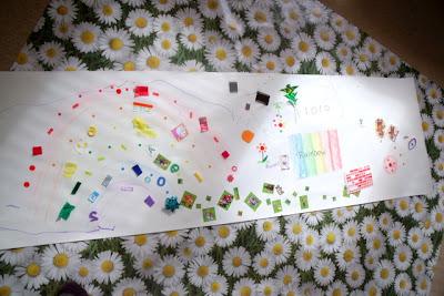 Mega Floor Doodles Preschool Ideas