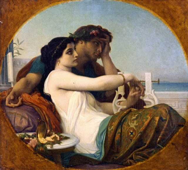 poets,alexandre cabanel,classical painting
