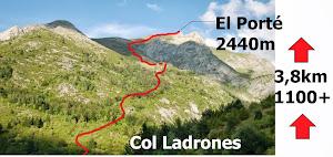 Canfranc-eko KmB: 3,8km / 1100mD+