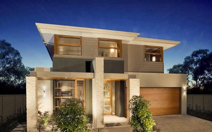 Decoracion actual de moda fachadas de casas modernas for Fachada de casas modernas con piedras