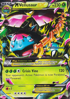 Mega Venusaur EX Pokemon X and Y Card