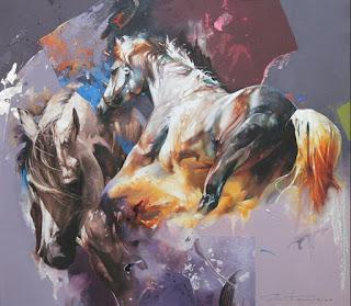 Caballos Pinturas Formidables Modernas