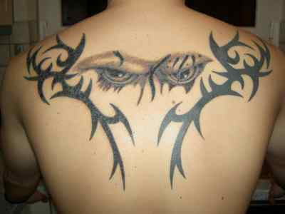 Tribal Tattoos   on Tattoos For Men On Upper Back   Tattoo Design