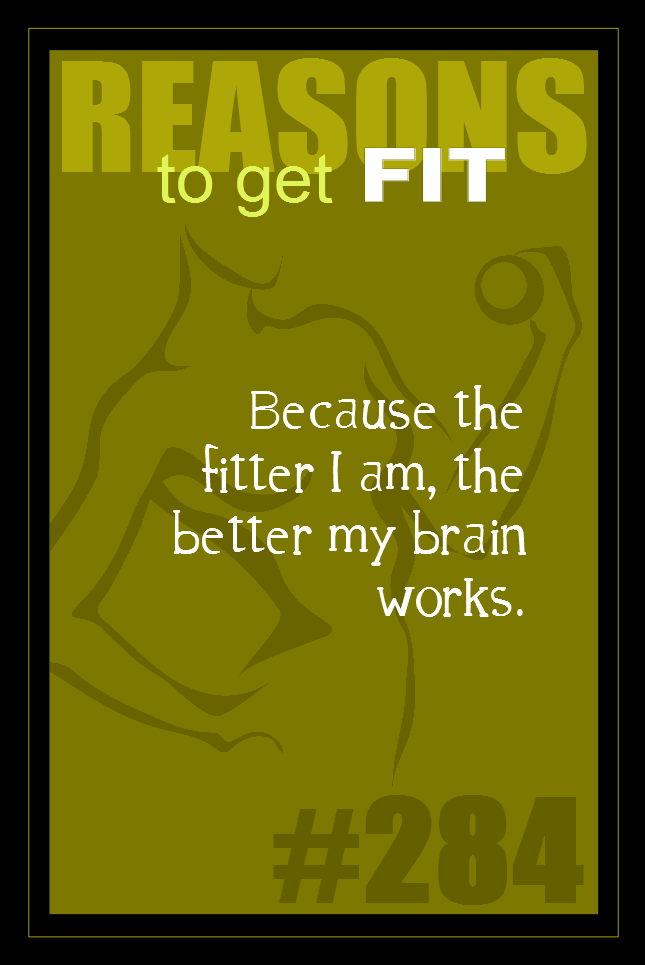 365 Reasons to Get Fit #284