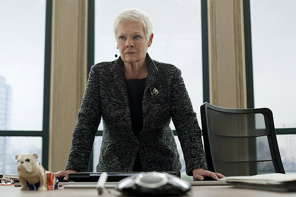 skyfall, james bond, 007 movie, judy dench, M