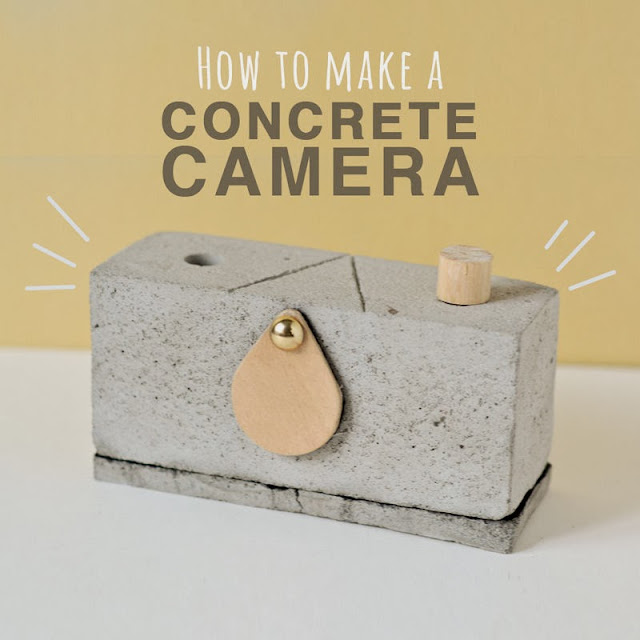 How to make a pinhole camera from concrete