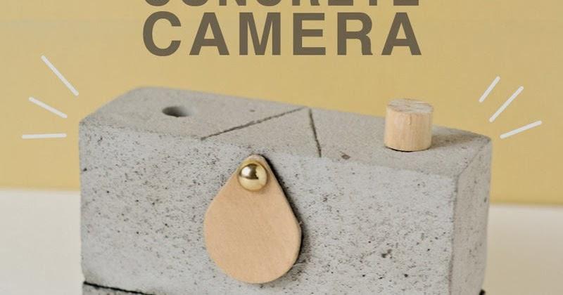 How to make a pinhole camera from concrete
