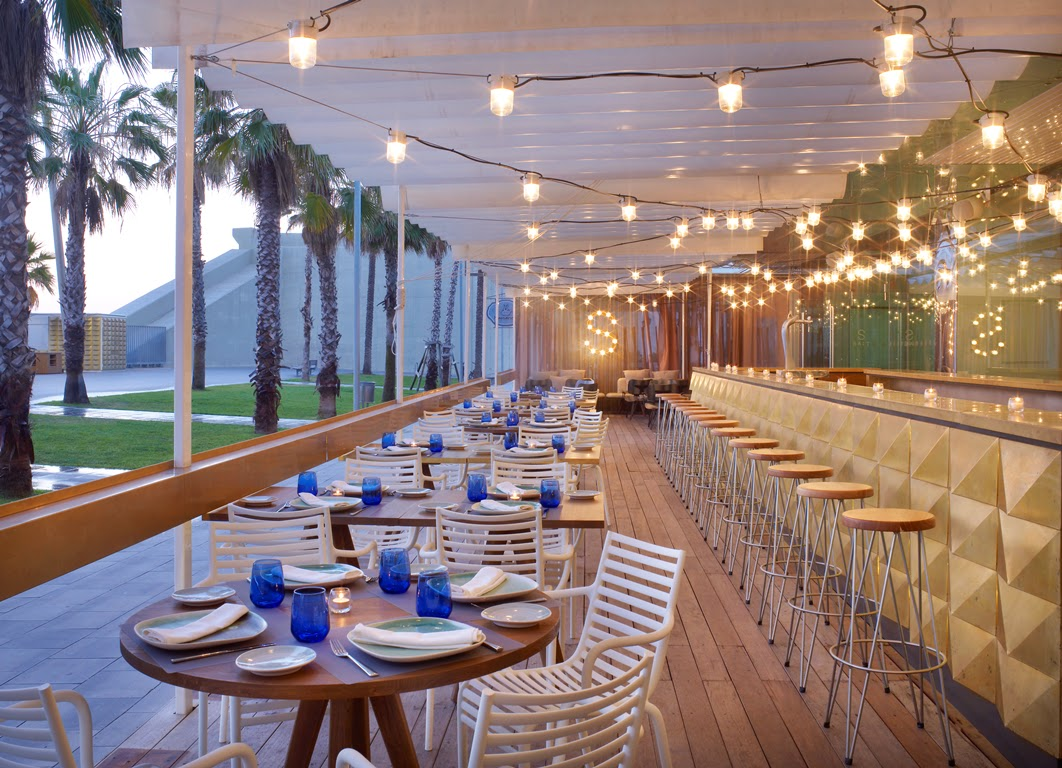 A little bit of Barcelona luxury at W Hotel's SALT beach club…
