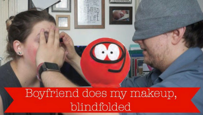 youtube, video, makeup, comic relief, red nose day, fiance, boyfriend