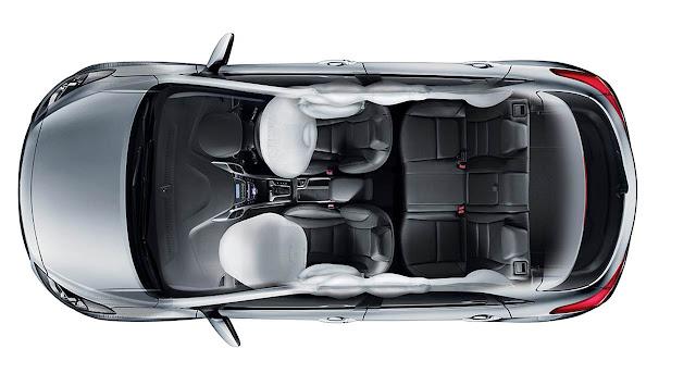Novo Hyundai i30 2016 - interior - airbags