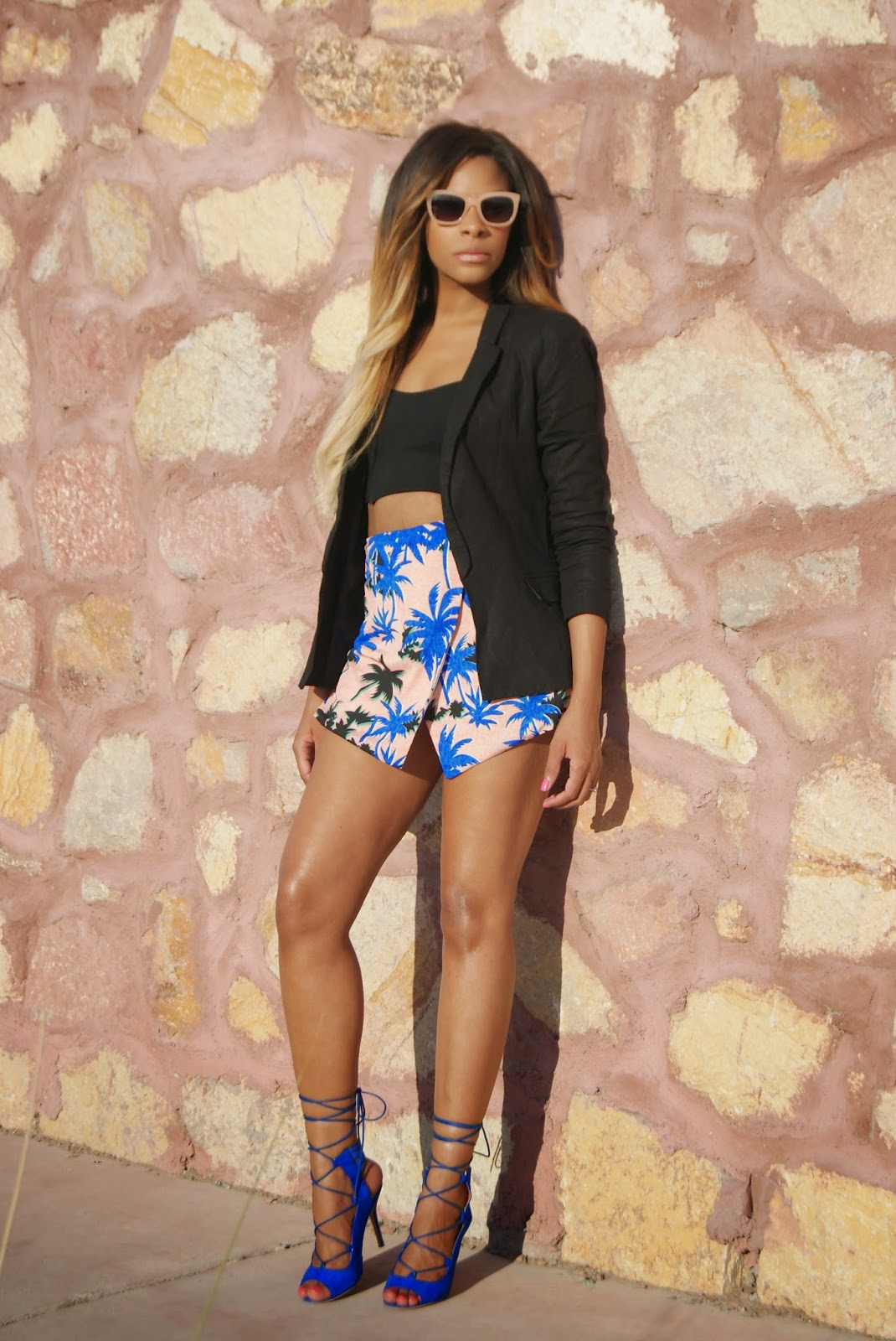 forever21, missguided, asos, allthingsslim, floral outfits, spring outfits, ombre hair