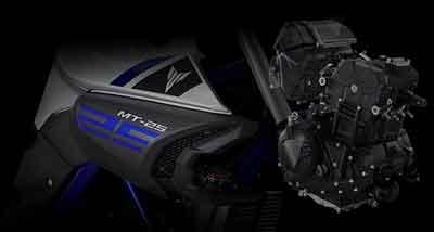 spesifikasi mesin Yamaha MT-25