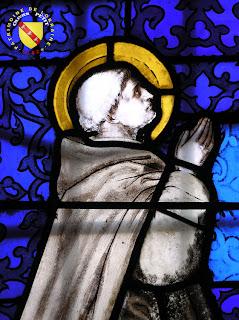 Bulligny - Église de la Nativité-de-la-Vierge - Vitrail : Saint-Bernard