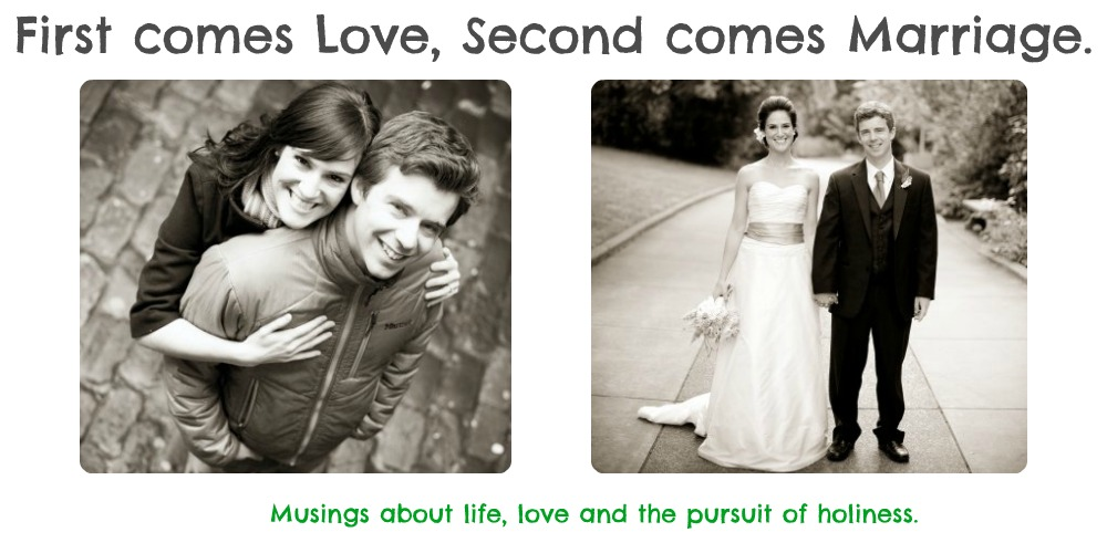First comes Love, Second comes Marriage