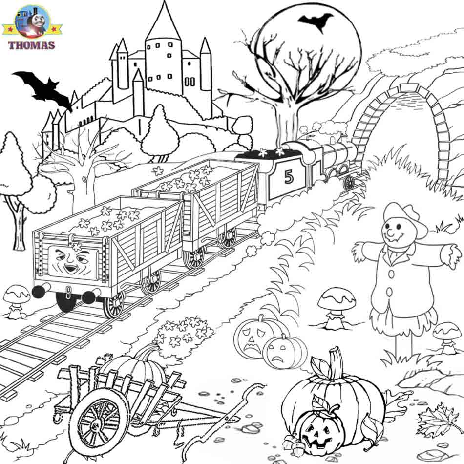 halloween pictures to color and print for free