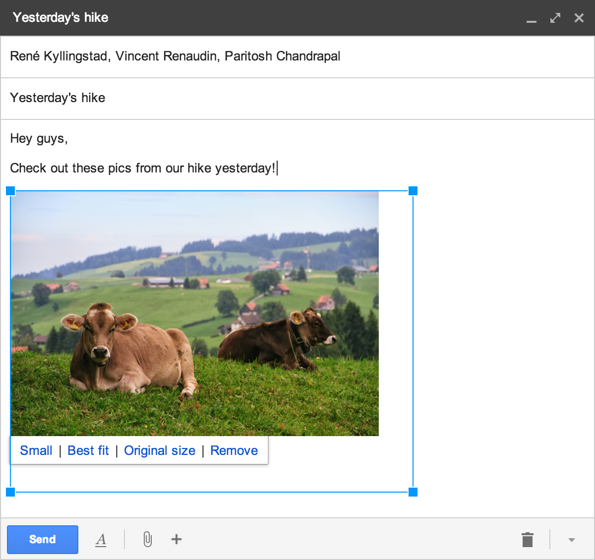 Image cropping in Gmail